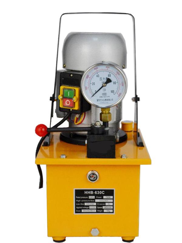 Насосы электрогидравлические к односторонним гидравлическим домкратам