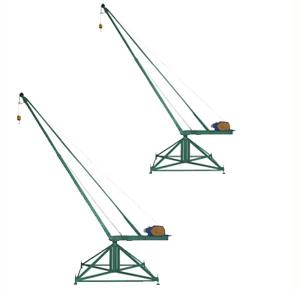 Кран стреловой поворотный МАСТЕР (тип Пионер)
