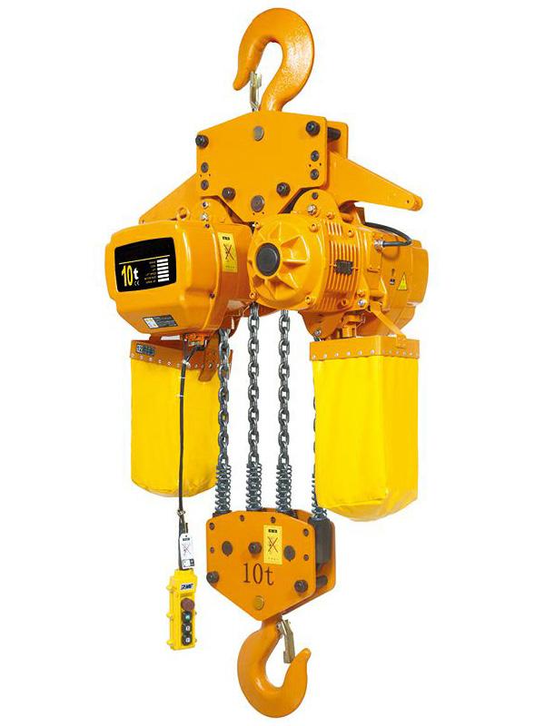 CТАЦ. Таль электрическая цепная TOR ТЭЦС (HHBD10-04) 10 т 24 м 380В